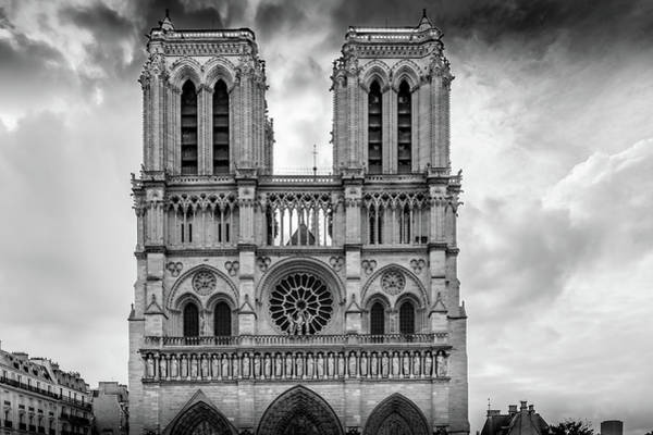 Wall Art - Photograph - Notre Dame Architecture by Georgia Fowler