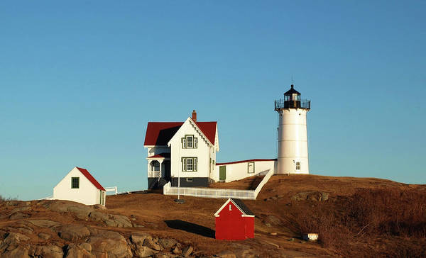 Photograph - Nubble Light House by Mary Capriole