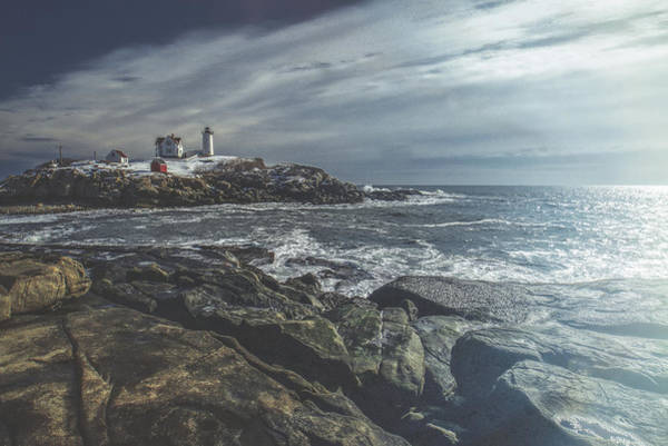 Photograph - Nubble Lighthouse by Bob Orsillo