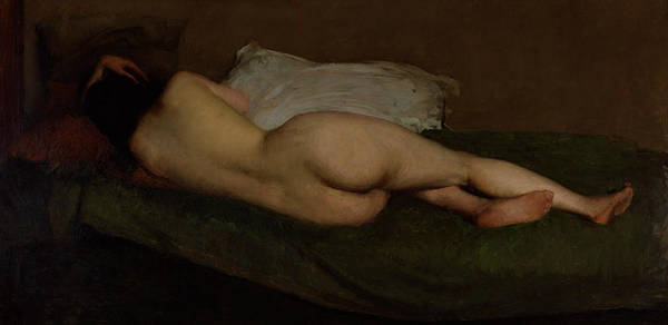 Painting - Nude Reclining by Hugh Ramsay
