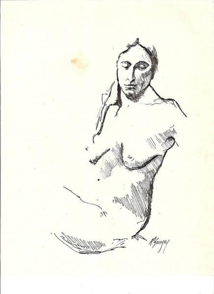 Nude Three Art Print