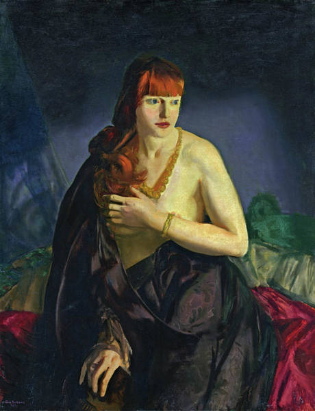 Photograph - Nude With Red Hair by George Bellows
