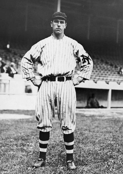 Fielder Photograph - Ny Giants' Fred Snodgrass by Underwood Archives