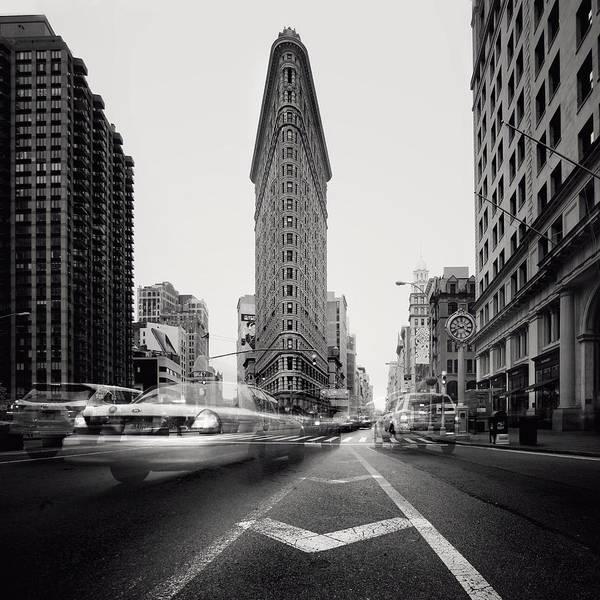 Monuments Photograph - Nyc Flat Iron by Nina Papiorek