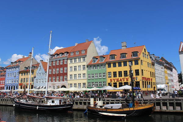 Wall Art - Photograph - Nyhavn by Dominic Labbe