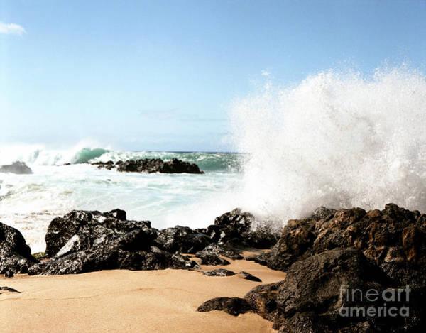 Photograph - Oahu North Shore Breaker by John Bowers