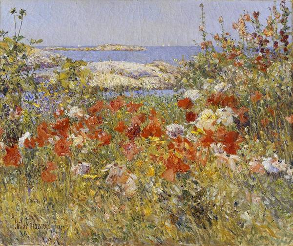 Painting - Ocean View by Childe Hassam