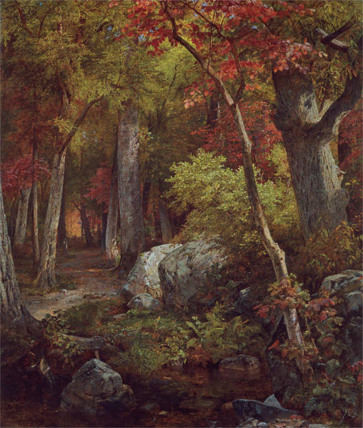 Painting - October by William Trost Richards