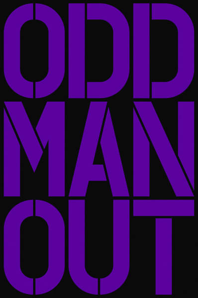 Wall Art - Painting - Odd Man Out by Three Dots