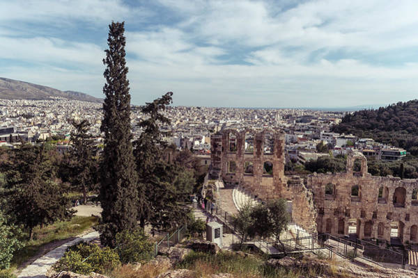 Photograph - Odeon Of Herodes Atticus by Michael Maximillian Hermansen