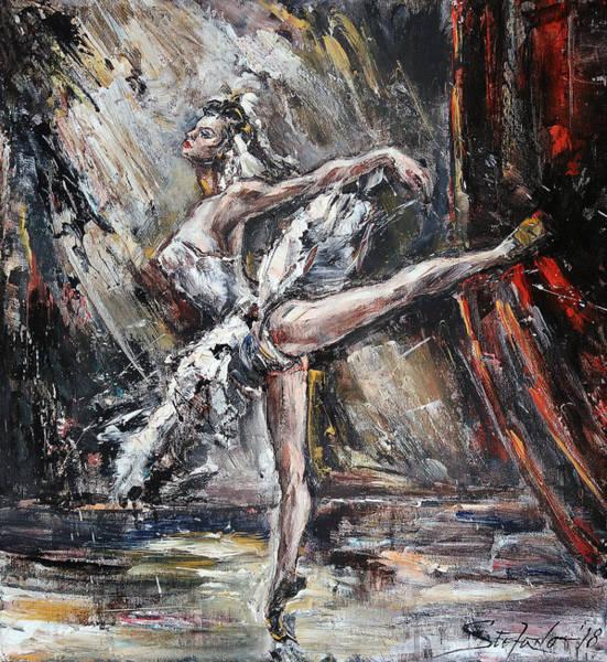 Painting - Odette by Stefano Popovski