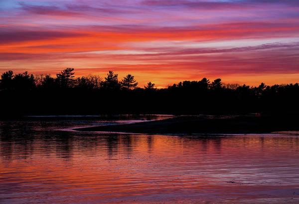 Odiorne Point Sunset Art Print
