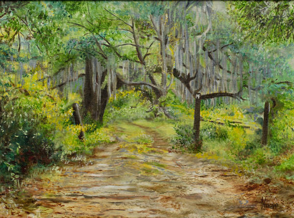 Painting - Off The Beaten Path by Kathy Knopp