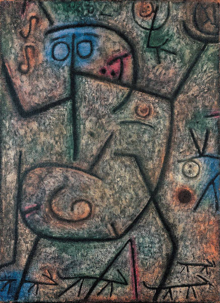 Painting - Oh These Rumors by Paul Klee