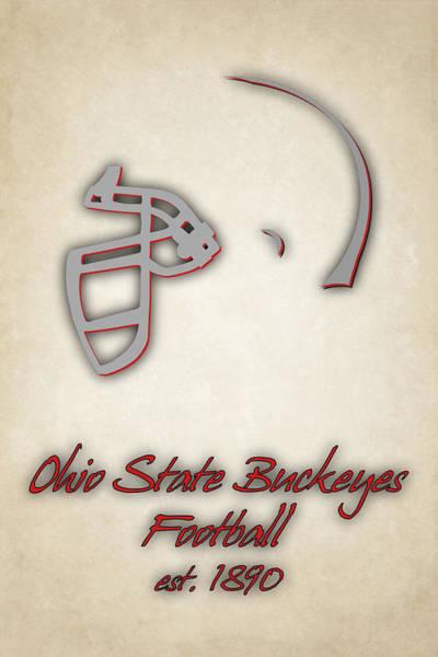 Ohio State Football Photograph - Ohio State Buckeyes by Joe Hamilton