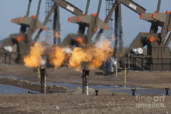 Photograph - Oil And Gas by Jim West