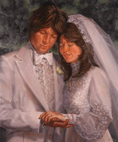 Painting - The Wedding  by Gary M Long