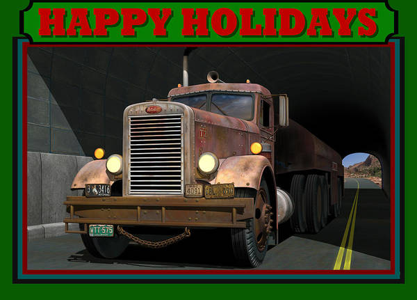 Wall Art - Digital Art - Ol' Pete Happy Holidays by Stuart Swartz