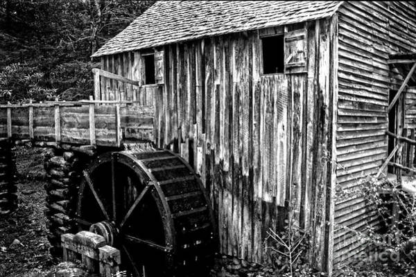 Wall Art - Photograph - Old Appalachian Mill by Paul W Faust - Impressions of Light