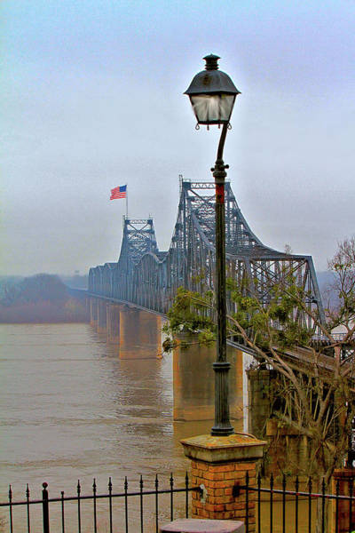 Digital Art - Old Bridge Of Vicksberg, Ms by Bonnie Willis