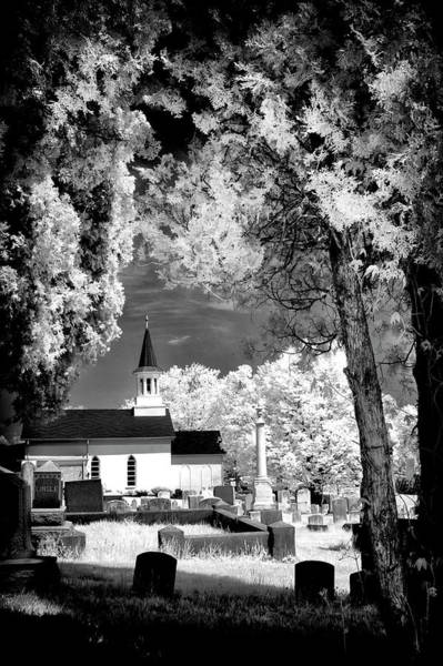Photograph - Old Country Church - Ir by Paul W Faust - Impressions of Light
