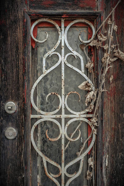 Wall Art - Photograph - Old Door Detail by Carlos Caetano