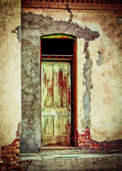Photograph - Old Doorway On Magoffin Street by SR Green