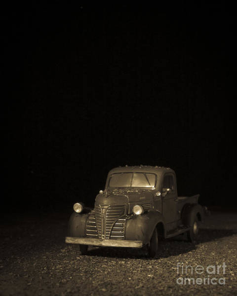 Photograph - Old Farm Truck by Edward Fielding