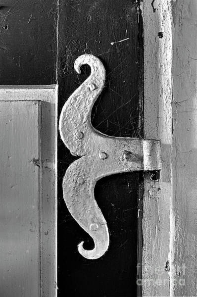 Fin-de-siecle Photograph - Old Hinge by Christian Hallweger