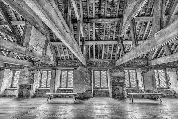 Park Bench Digital Art - Old House Interior by Tsafreer Bernstein
