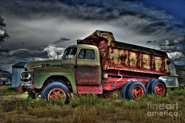 Photograph - Old International by Tony Baca
