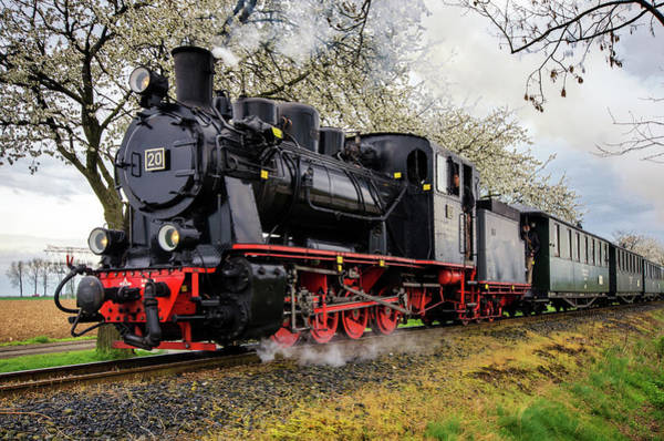 Ostern Wall Art - Photograph - Old Locomotive by Steffen Gierok