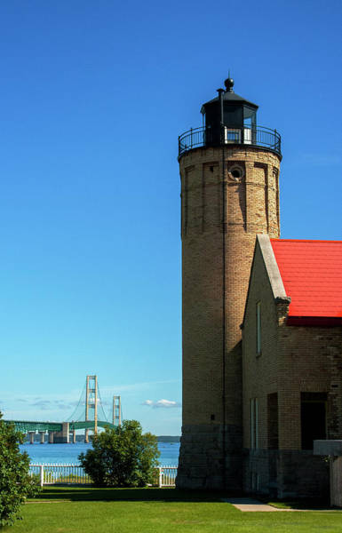 Old Mackinac Point Lighthouse Art Print