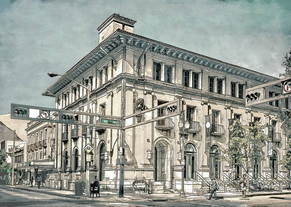 Photograph - Old Miami Post Office by Steven Greenbaum
