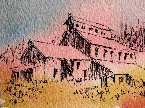 Mixed Media - Old Mill Cable Ghost Town Montana_ by Kevin Heaney