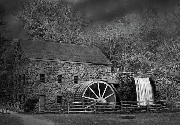 Photograph - Old Mill by Robert Mitchell