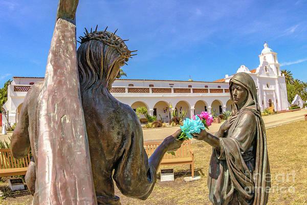 San Luis Rey De Francia Photograph - Old Mission San Luis Rey De Francia #0080 by Onie Dimaano