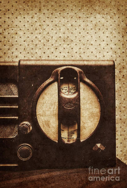 Wall Art - Photograph - Old Radio Nostalgia by Jorgo Photography - Wall Art Gallery
