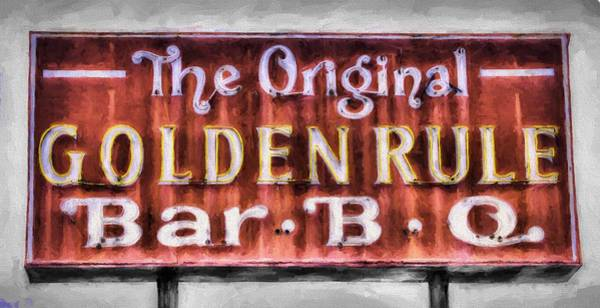 Wall Art - Photograph - Old School Bbq by JC Findley