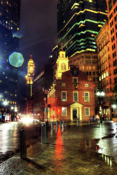 Wall Art - Photograph - Old State House - Boston by Joann Vitali
