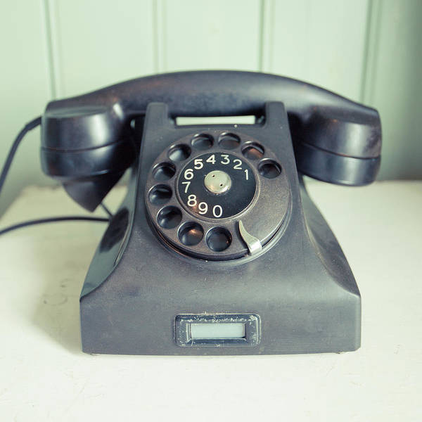 Home Wall Art - Photograph - Old Telephone Square by Edward Fielding