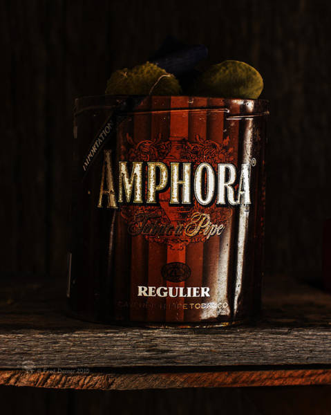 Photograph - Old Tobacco Can by Fred Denner
