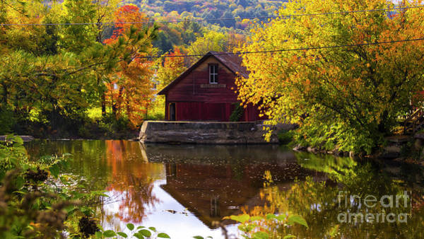 Photograph - On The Back Roads Of Stowe by Scenic Vermont Photography