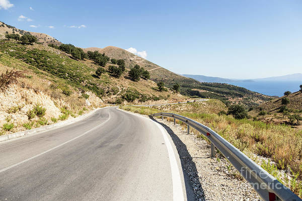 Photograph - On The Road In Albania by Didier Marti