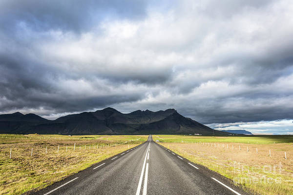 Photograph - On The Road In Iceland by Didier Marti