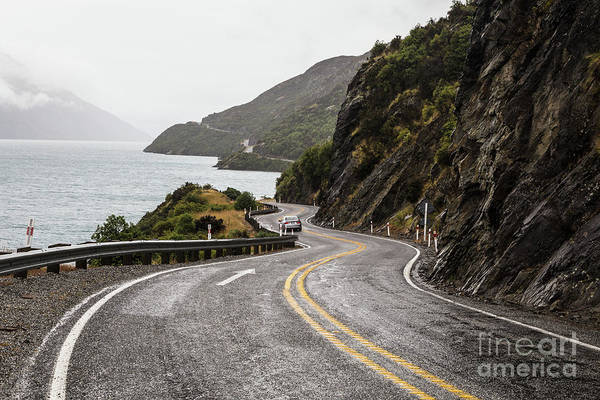 Photograph - On The Road To Queenstown In New Zealand by Didier Marti