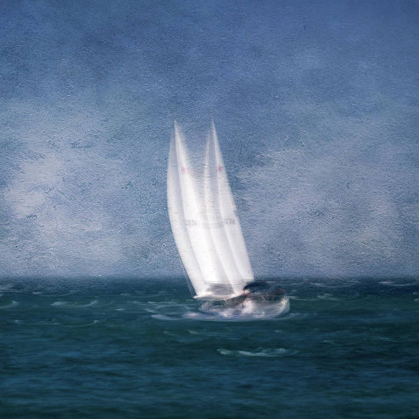 Photograph - On The Sound by John Whitmarsh