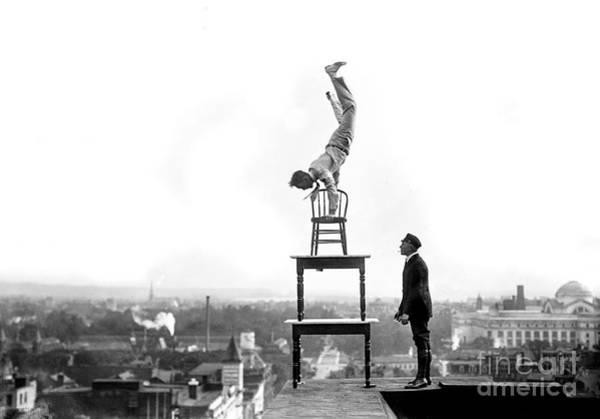 Comedy Photograph - On Top Of The World by Jon Neidert