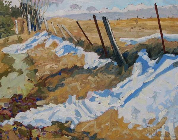 Watershed Painting - One More Drift by Phil Chadwick
