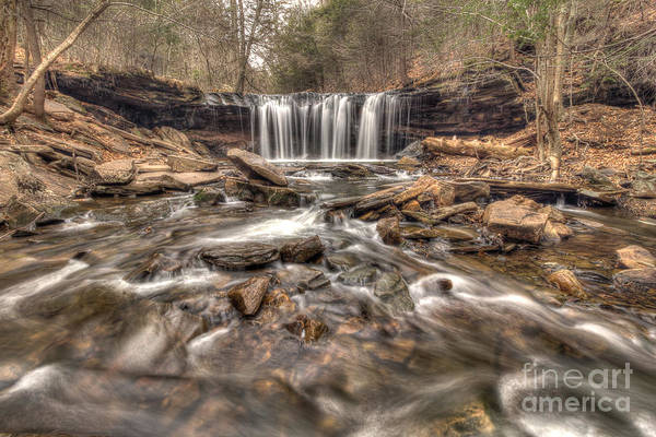 Photograph - Oneida Falls II by Rod Best